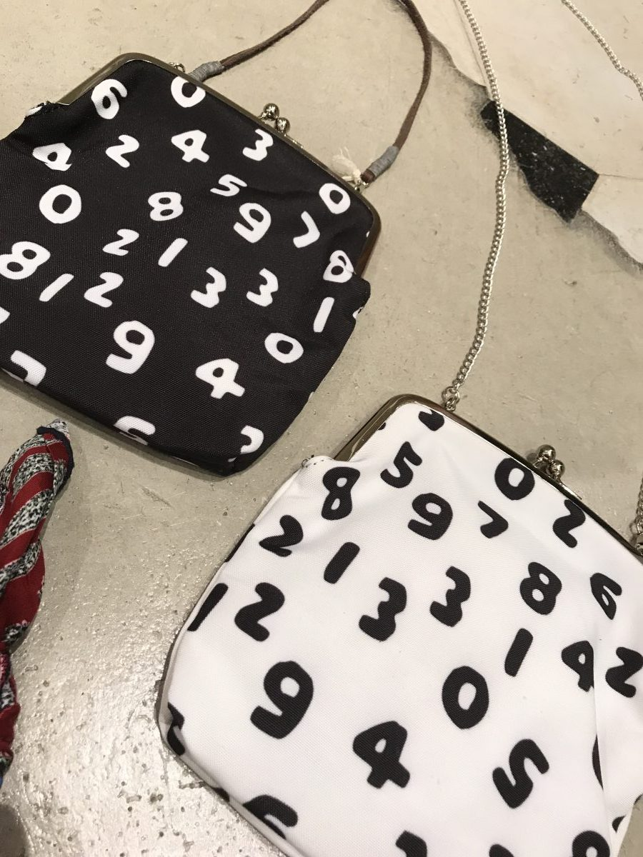 Numeral pouch bag