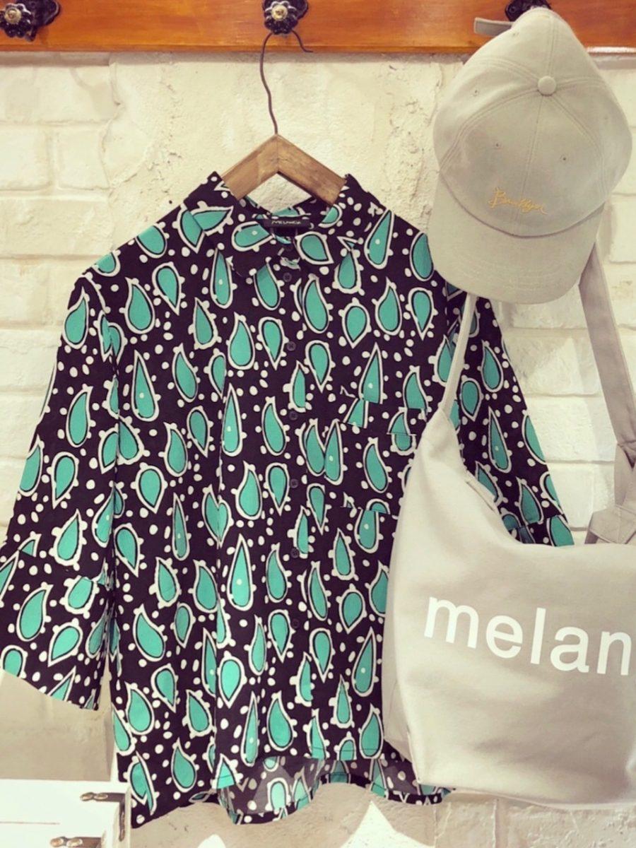 Paisley pattern blouse