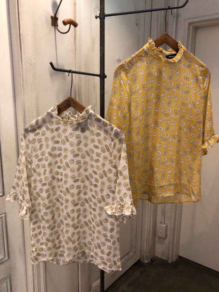 Cookie pattern shirt