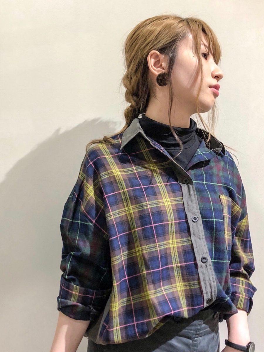 Switch check shirt