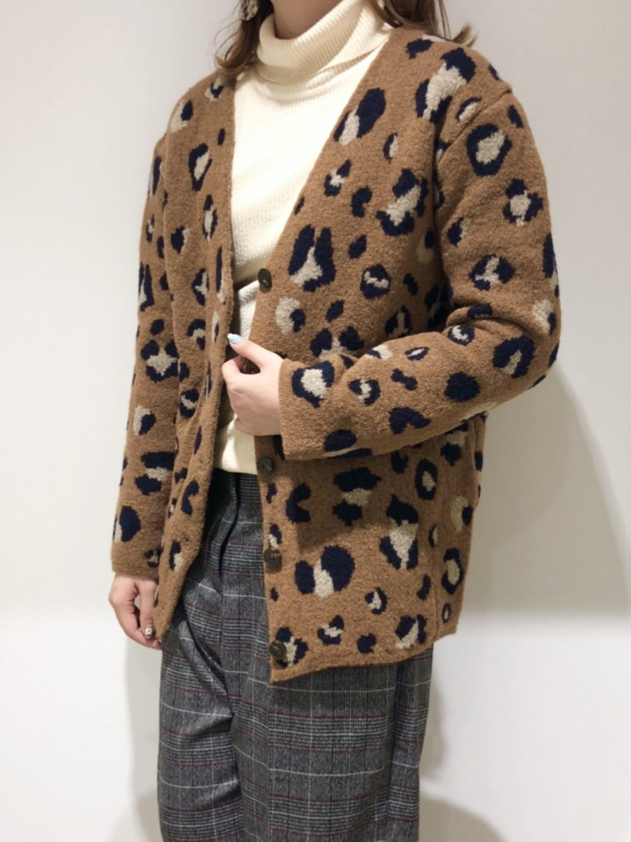 Leopard Pattern Cardigan
