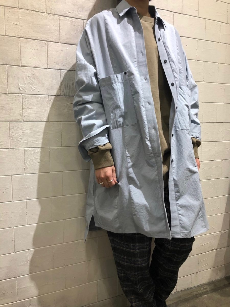 Cotton mesh switch coat