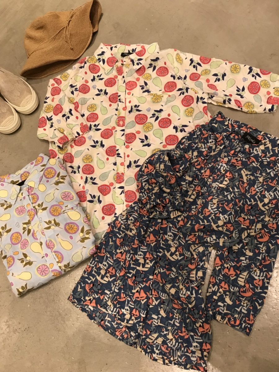 Printed pattern blouse
