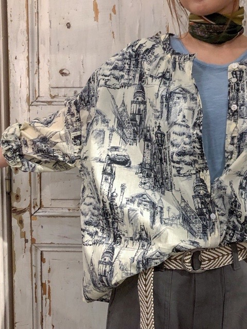 Landscape blouse