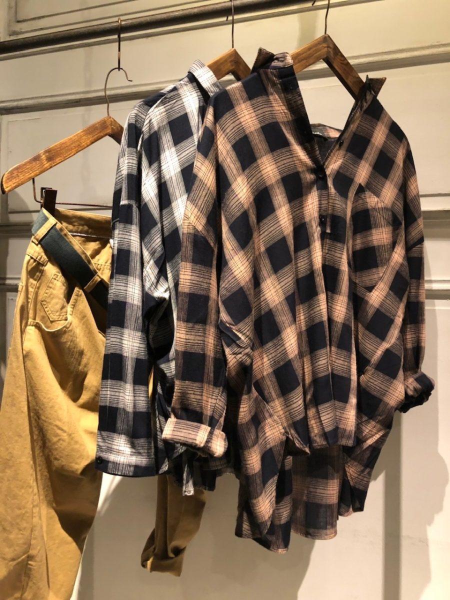 Checkover size shirt
