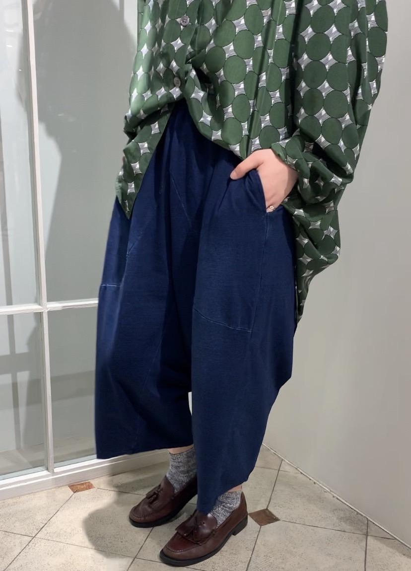 Deformation balloon pants