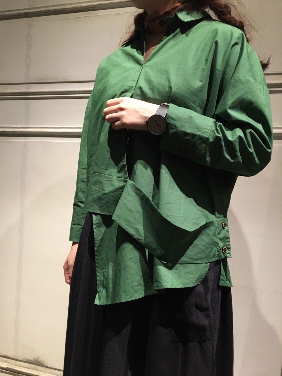 Deformation blouse