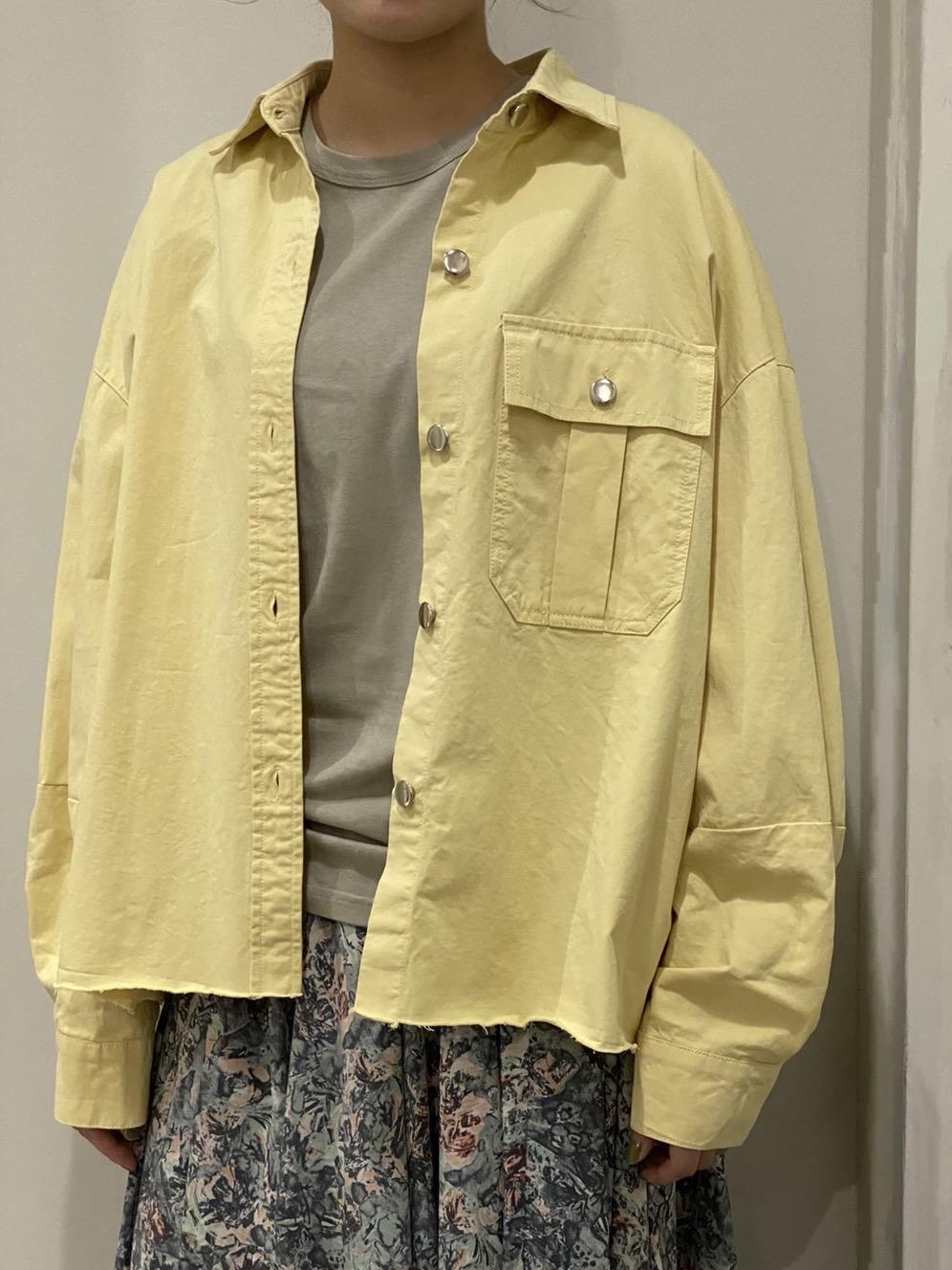 Work cut-off shirt jacket